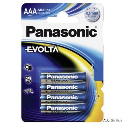 Für weitere Info hier klicken. Artikel: Panasonic Batterie Evolta Micro AAA 4er-Pack