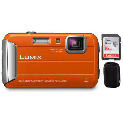 Für weitere Info hier klicken. Artikel: Panasonic DMC-FT30 + Hama Hardcase Colour Style 80M + 16 GB Karte orange