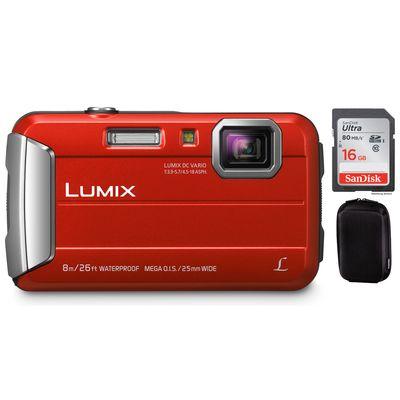 Für weitere Info hier klicken. Artikel: Panasonic DMC-FT30 + Hama Hardcase Colour Style 80M + 16 GB Karte rot