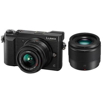 Für weitere Info hier klicken. Artikel: Panasonic DMC-GX80, AF 14-42mm + 25mm f/1,7 schwarz