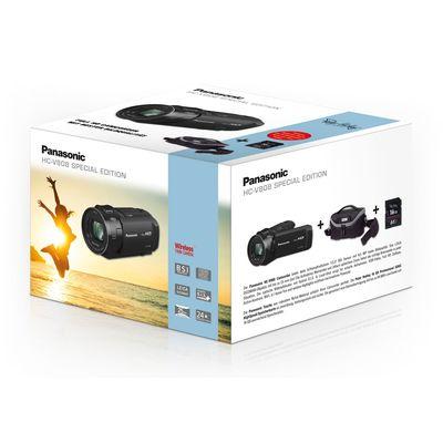 Für weitere Info hier klicken. Artikel: Panasonic Lumix HC-V808EG-K Set, inklusive 16 GB SD Karte + Tasche