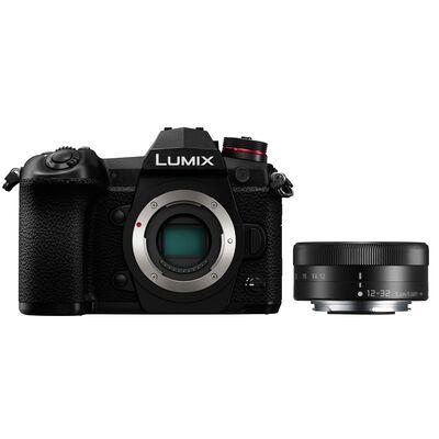 Für weitere Info hier klicken. Artikel: Panasonic Lumix DC-G9 Gehäuse + AF 12-32mm f/3,5-5,6 asph.schwa.