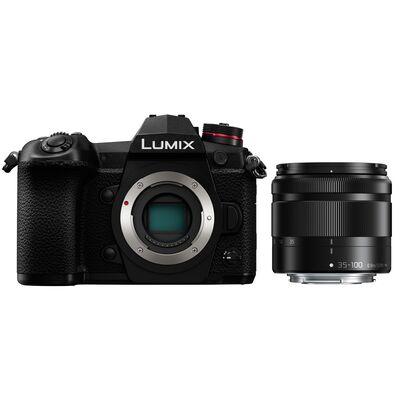 Für weitere Info hier klicken. Artikel: Panasonic Lumix DC-G9 Gehäuse + AF 4,0-5,6/35-100 Asph. G Vario OIS