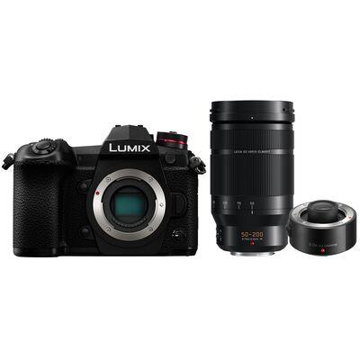 Für weitere Info hier klicken. Artikel: Panasonic Lumix DC-G9 Gehäuse + AF 50-200mm f/2,8-4,0 Leica DG Vario Elmarit O.I.S. + Panasonic Telekonverter DMW-TC20E