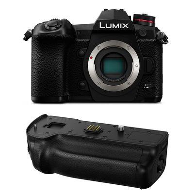 Für weitere Info hier klicken. Artikel: Panasonic Lumix DC-G9 + Batteriegriff DMW-BGG9E