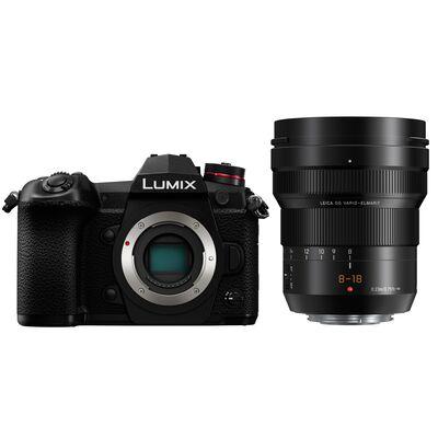 Für weitere Info hier klicken. Artikel: Panasonic Lumix DC-G9 Gehäuse + Leica DG Vario 8-18mm f/2,8-4,0