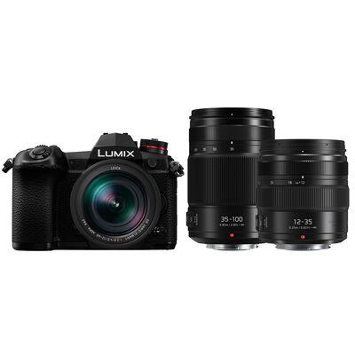 Für weitere Info hier klicken. Artikel: Panasonic Lumix DC-G9 + Leica DG Elmarit AF 12-60mm f/2,8-4,0 OIS + AF X VARIO 12-35mm f/2,8 II G asph. O.I.S + AF 35-100mm f/2,8 Power OIS Dust&Splash