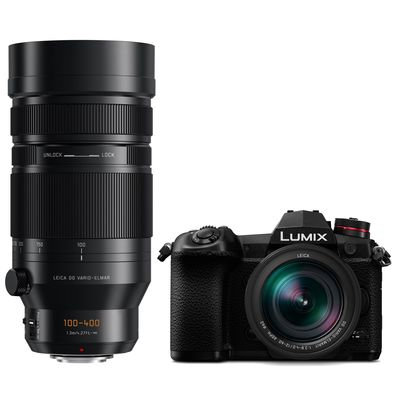 Für weitere Info hier klicken. Artikel: Panasonic Lumix DC-G9 ,Leica DG Elmarit AF 2,8-4,0/12-60 OIS+AF 4,0-6,3/100-400 OIS DG Apsh Micro Four Thirds schwarz