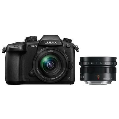Für weitere Info hier klicken. Artikel: Panasonic Lumix DC-GH5 + AF 12-60mm G Vario Asph. OIS + Summilux AF 15mm f/1,7 Leica DG
