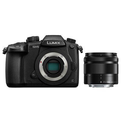Für weitere Info hier klicken. Artikel: Panasonic Lumix DC-GH5 + AF 4,0-5,6/35-100 Asph. G Vario OIS
