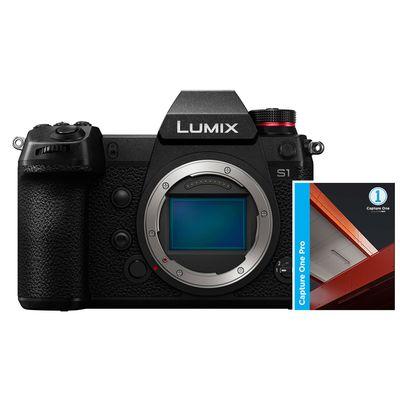 Für weitere Info hier klicken. Artikel: Panasonic Lumix DC-S1 + Capture one Pro 12 L-Mount schwarz