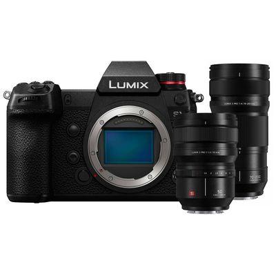 Für weitere Info hier klicken. Artikel: Panasonic Lumix DC-S1 + Lumix S Pro 70-200mm f/4,0 O.I.S. + Lumix S Pro 50mm f/1,4 L-Mount