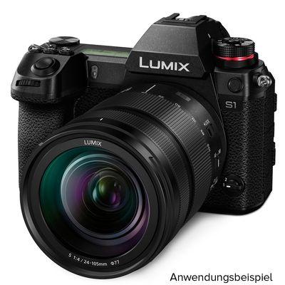Für weitere Info hier klicken. Artikel: Panasonic Lumix DC-S1 L-Mount schwarz