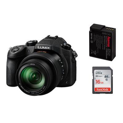 Für weitere Info hier klicken. Artikel: Panasonic Lumix DMC-FZ1000 + Hama Akku DMW-BLC 12 + SanDisk SDHC Ultra Cl.10, UHS-I, 80MB/Sec 16 GB