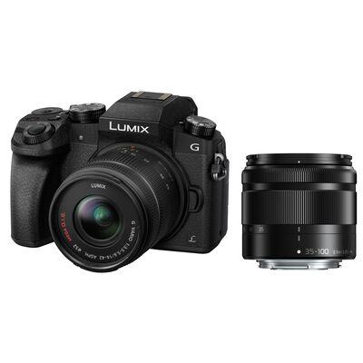 Für weitere Info hier klicken. Artikel: Panasonic Lumix DMC-G70 + AF 14-42mm OIS G-Vario + AF 4,0-5,6/35-100 Asph. G Vario OIS