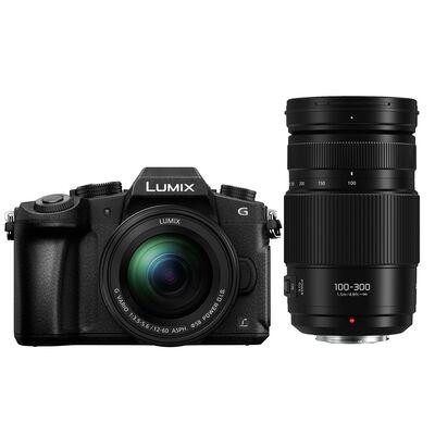 Für weitere Info hier klicken. Artikel: Panasonic Lumix DMC-G81 + 12-60mm f/3,5-5,6 G Vario Asph. OIS + AF 100-300mm f/4,0-5,6 II OIS