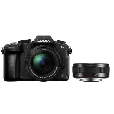 Für weitere Info hier klicken. Artikel: Panasonic Lumix DMC-G81 + 12-60mm f/3,5-5,6 G Vario Asph. OIS + AF 20mm f/1,7 II Asph.