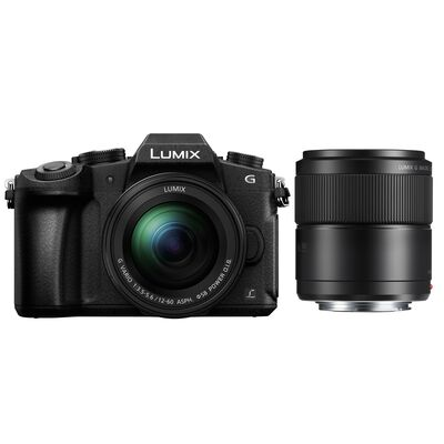 Für weitere Info hier klicken. Artikel: Panasonic Lumix DMC-G81 + 12-60mm f/3,5-5,6 G Vario Asph. OIS + AF 30mm f/2,8 G Macro Asph. OIS