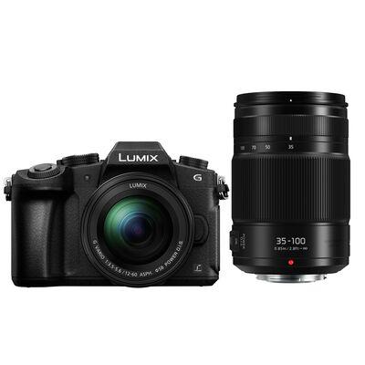 Für weitere Info hier klicken. Artikel: Panasonic Lumix DMC-G81 + 12-60mm f/3,5-5,6 G Vario Asph. OIS + AF 35-100mm f/2,8 Power OIS