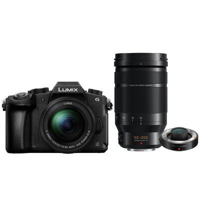 Für weitere Info hier klicken. Artikel: Panasonic Lumix DMC-G81 + 12-60mm f/3,5-5,6 G Vario Asph. OIS + AF 50-200mm f/2,8-4,0 Leica DG Vario Elmarit O.I.S. + Panasonic Telekonverter DMW-TC14E