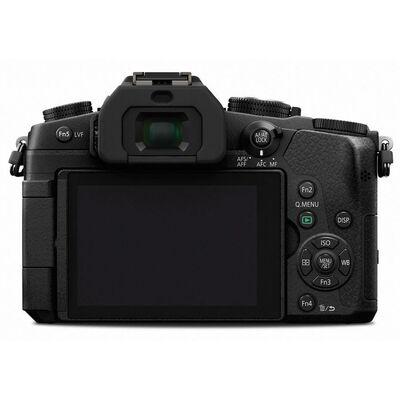 Für weitere Info hier klicken. Artikel: Panasonic Lumix DMC-G81 + 12-60mm f/3,5-5,6 G Vario Asph. OIS - Ausstellungsstück - schwarz