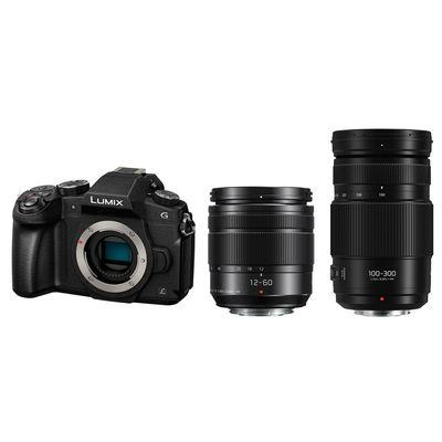 Für weitere Info hier klicken. Artikel: Panasonic Lumix DMC-G81, 3,5-5,6/12-60 OIS + AF 100-300mm f/4,0-5,6 II OIS Micro Four Thirds