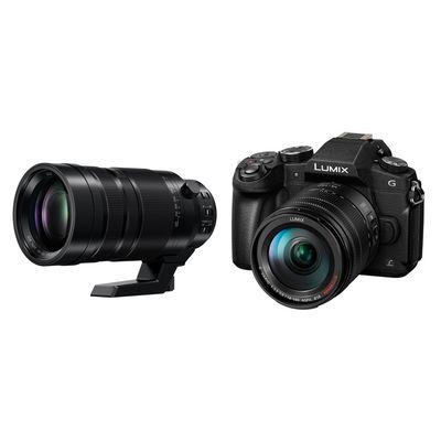 Für weitere Info hier klicken. Artikel: Panasonic Lumix DMC-G81, 3,5-5,6/14-140 OIS + Leica AF 100-400mm f/4,0-6,3 OIS DG Apsh. Micro Four Thirds