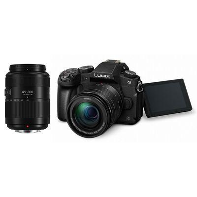 Für weitere Info hier klicken. Artikel: Panasonic Lumix DMC-G81,AF 12-60+45-200 II Micro Four Thirds schwarz