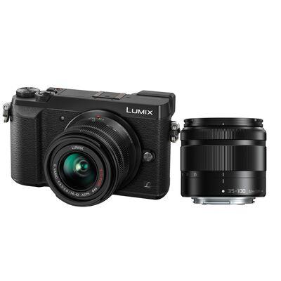 Für weitere Info hier klicken. Artikel: Panasonic Lumix DMC-GX80 + AF 14-42mm G II OIS + AF 4,0-5,6/35-100 Asph. G Vario OIS