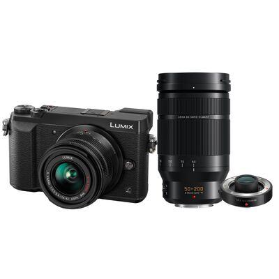 Für weitere Info hier klicken. Artikel: Panasonic Lumix DMC-GX80 + AF 14-42mm G II OIS + AF 50-200mm f/2,8-4,0 Leica DG Vario Elmarit O.I.S. + Panasonic Telekonverter DMW-TC14E