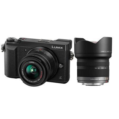 Für weitere Info hier klicken. Artikel: Panasonic Lumix DMC-GX80 + AF 14-42mm G II OIS + AF 7-14mm f/4,0 Asph.
