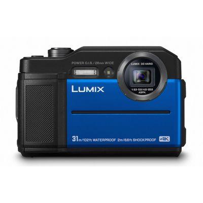 Für weitere Info hier klicken. Artikel: Panasonic Lumix DC-FT7 blau
