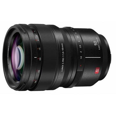 Für weitere Info hier klicken. Artikel: Panasonic Lumix S Pro 50mm f/1,4 L-Mount schwarz