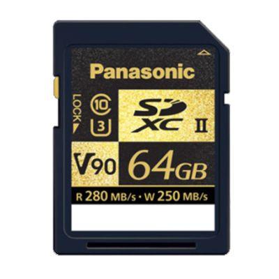 Für weitere Info hier klicken. Artikel: Panasonic SDXC, Class 10, UHS II, U3, V90, 280MB/s 64 GB