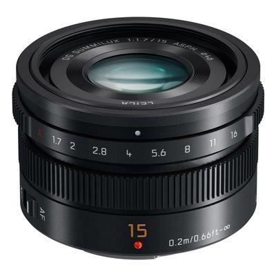Für weitere Info hier klicken. Artikel: Panasonic Summilux F 1,7/15 DG schwarz Micro Four Thirds