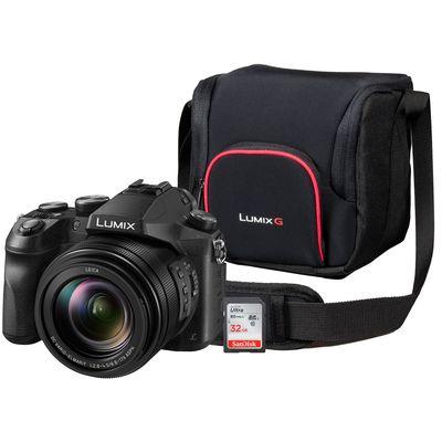 Für weitere Info hier klicken. Artikel: Panasonic Lumix DMC-FZ 2000 + Tasche DMW-PGH68XEK + 32 GB Karte