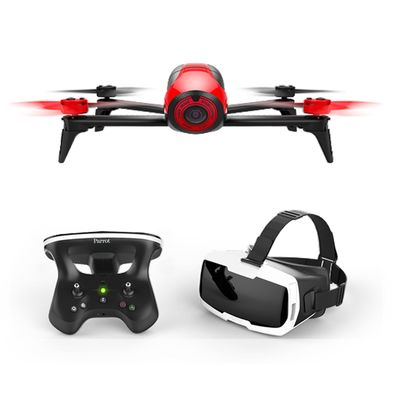 Für weitere Info hier klicken. Artikel: Parrot Bebop 2 inkl. Skycontroller 2 & FPV-Brille rot