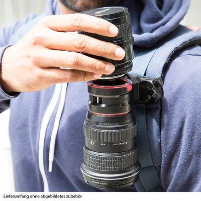 Für weitere Info hier klicken. Artikel: Peak Design Lens Kit für Canon EOS - Doppel-Objektivhalterung für Capture(Pro) Camera Clip und Slide (Lite) oder Leash