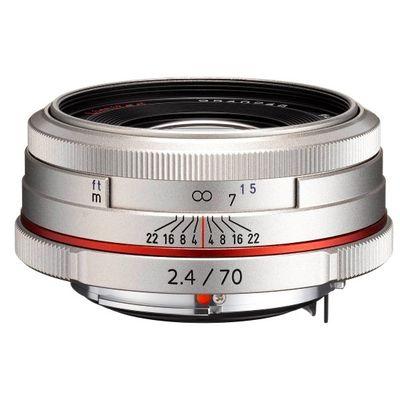 Für weitere Info hier klicken. Artikel: Pentax DA 2,4/70 HD Limited Pentax K silber