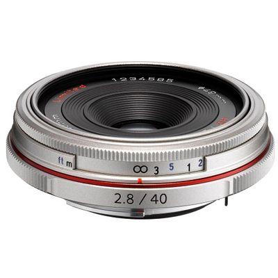 Für weitere Info hier klicken. Artikel: Pentax DA 2,8/40 HD Limited Pentax K silber