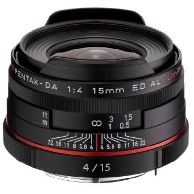 Für weitere Info hier klicken. Artikel: Pentax DA 4,0/15 ED AL HD Limited schwarz Pentax K
