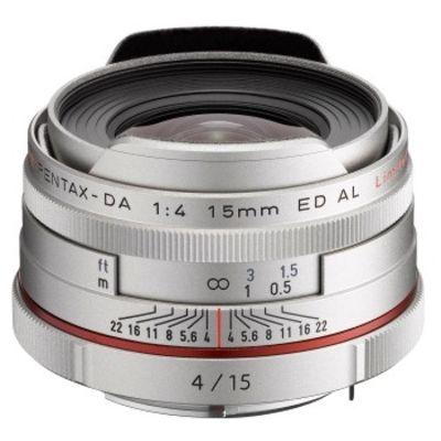 Für weitere Info hier klicken. Artikel: Pentax DA 4,0/15 ED AL HD Limited Pentax K silber