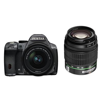 Für weitere Info hier klicken. Artikel: Pentax K-50,DA-L 18-55 WR + 50-200 WR schwarz