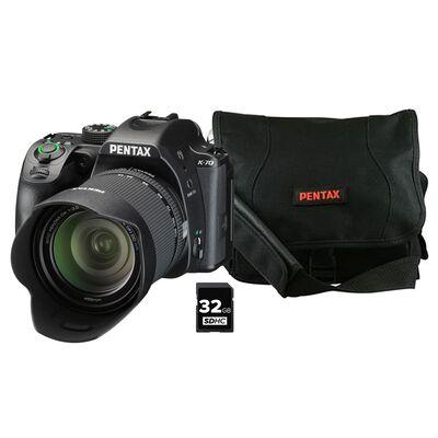 Für weitere Info hier klicken. Artikel: Pentax K-70 + 18-135 WR + Multifunktionstasche + 32GB SD-Karte