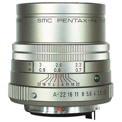 Für weitere Info hier klicken. Artikel: Pentax SMC FA 77mm f/1,8 Limited Pentax K Vollformat silber