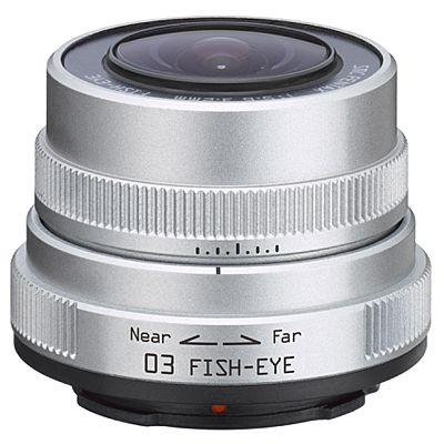 Für weitere Info hier klicken. Artikel: Pentax Toy Lens 03 3,2mm Fisheye silber Pentax Q