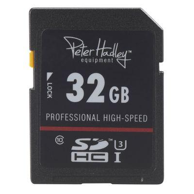 Für weitere Info hier klicken. Artikel: Peter Hadley 32 GB SDHC-Karte Prof. High Speed U3 Class10 UHS-I