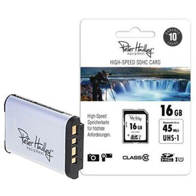 Für weitere Info hier klicken. Artikel: Peter Hadley Upgrade-Kit Ersatz Akku NP-BX1 + 16GB SD-Karte