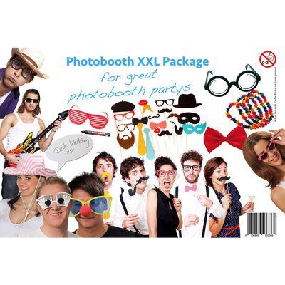 Für weitere Info hier klicken. Artikel: Photobooth Probs & Accessories 37 Teile Kitpaket XL
