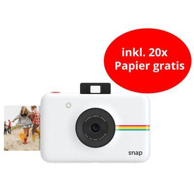 Für weitere Info hier klicken. Artikel: Polaroid Digitale Sofortbildkamera SNAP inkl. 20x Papier weiss
